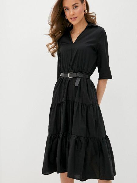Платье прямое черное Concept Club