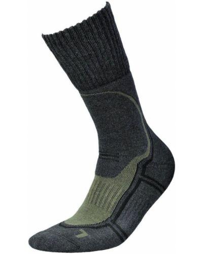 Зеленые трекинговые носки Inmove