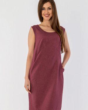 Летнее платье бордовый красный S&a Style