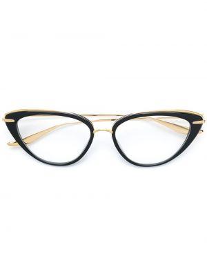 Очки кошачий глаз для зрения с логотипом Dita Eyewear