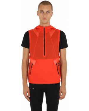 Красная жилетка с капюшоном с завязками Under Armour