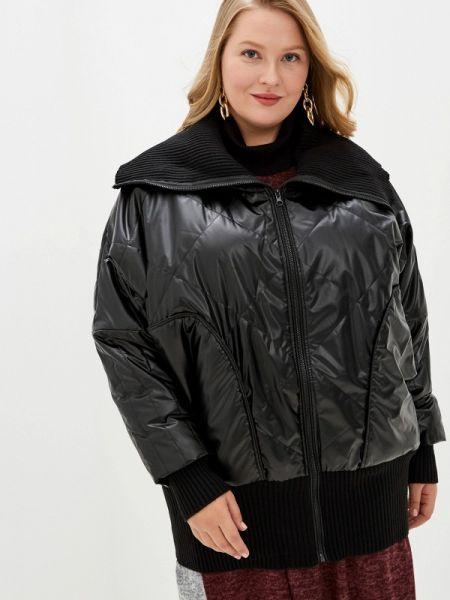 Утепленная куртка - черная Артесса