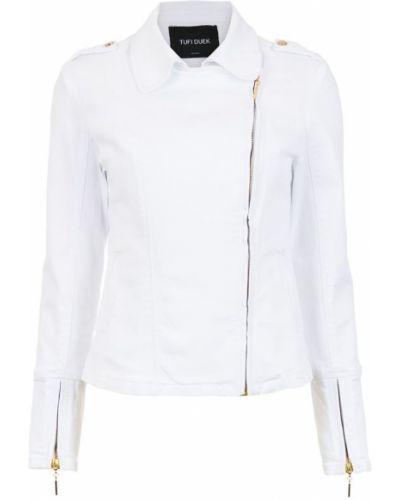 Куртка байкерская - белая Tufi Duek