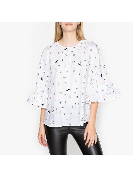 Блузка с вышивкой с цветочным принтом Essentiel Antwerp