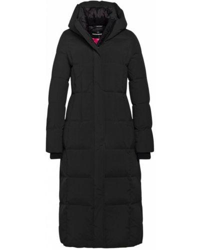 Czarny płaszcz Creenstone