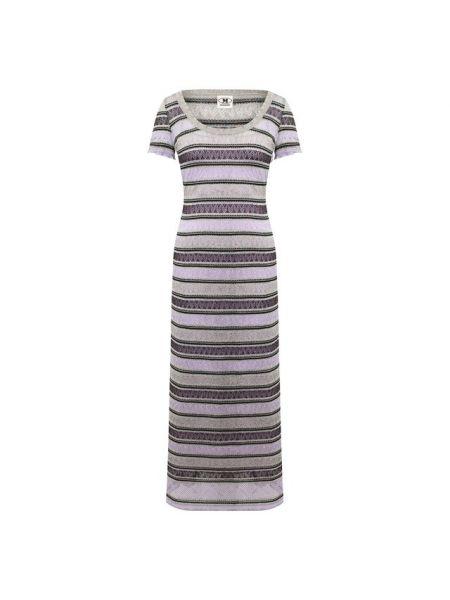 Платье с люрексом с вырезом M Missoni
