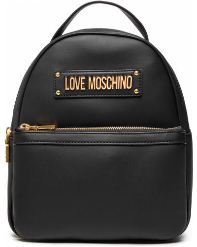 Plecak - czarny Love Moschino