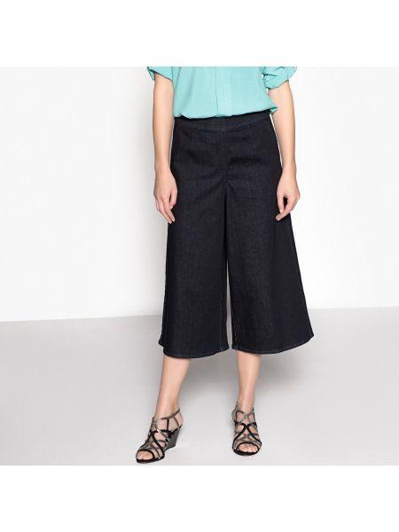 Джинсовая юбка брюки в складку Anne Weyburn