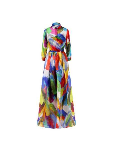 Шелковое платье с подкладкой Sara Roka