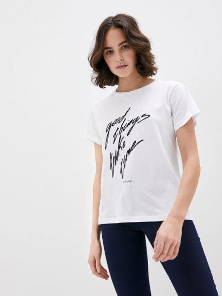 Поло белое футбольный Trussardi Jeans