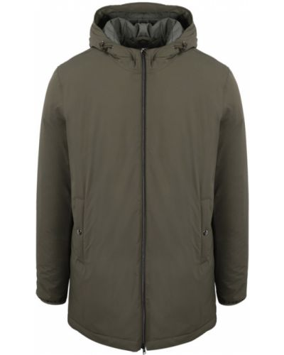 Płaszcz przeciwdeszczowy - zielony Herno