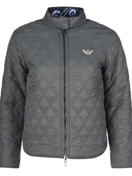 Серая куртка Emporio Armani