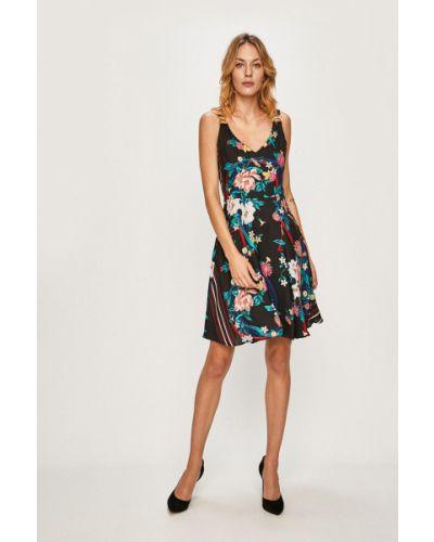 Облегающее платье с декольте расклешенное Morgan