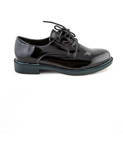 Черные туфли летние Meitesi