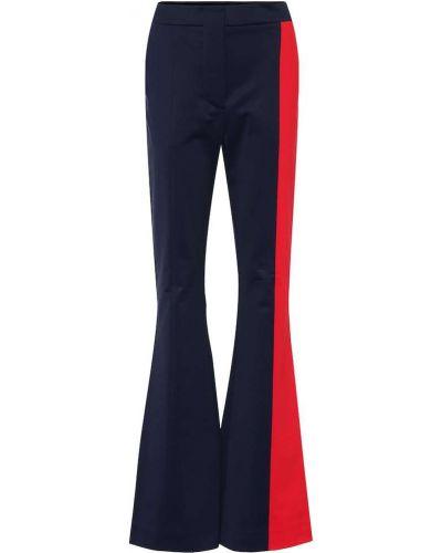 Niebieski rozbłysnął klasyczne spodnie z paskami Marni
