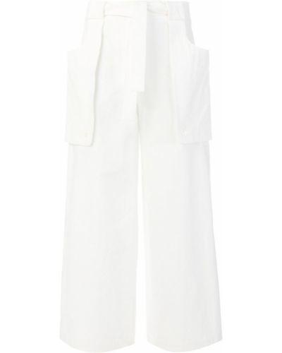 Свободные брюки с завышенной талией с карманами Thom Browne