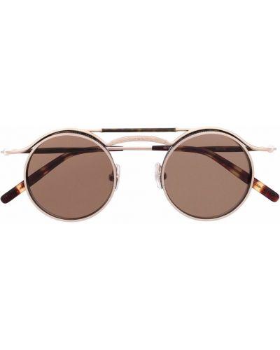 Brązowe okulary Matsuda