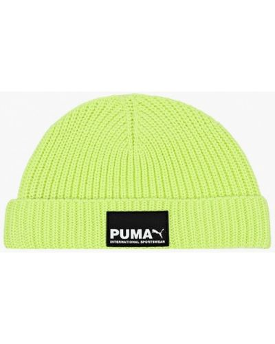 Шапка - зеленая Puma