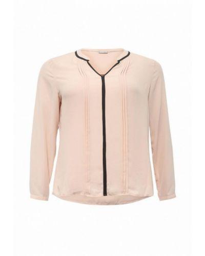 Блузка с длинным рукавом весенний бежевый Fiorella Rubino