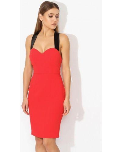 Красное коктейльное платье Tutto Bene