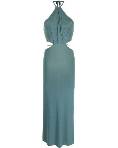 Платье длинное - синее Manning Cartell