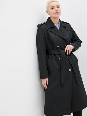Пальто - черное Modress