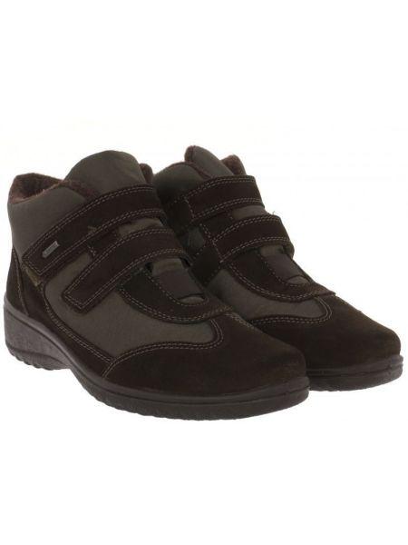 Кожаные ботинки - коричневые Ara