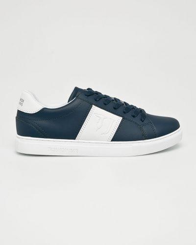 Джинсы на шнуровке Trussardi Jeans