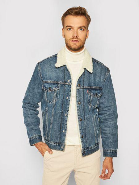 Niebieska kurtka jeansowa Levi's