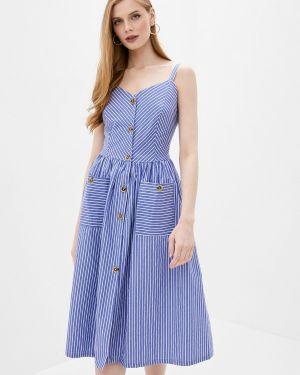 Платье синее платье-сарафан Imocean