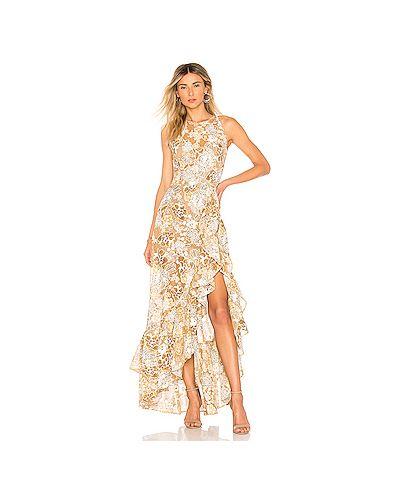 Платье с вышивкой со складками Bronx And Banco
