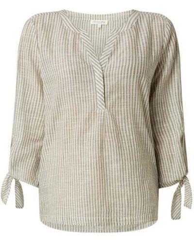 Zielona bluzka w paski bawełniana Christian Berg Women