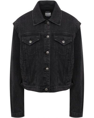 Хлопковая джинсовая куртка - серая Ksubi