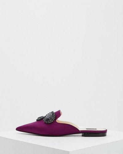 Сабо итальянский фиолетовый Pinko