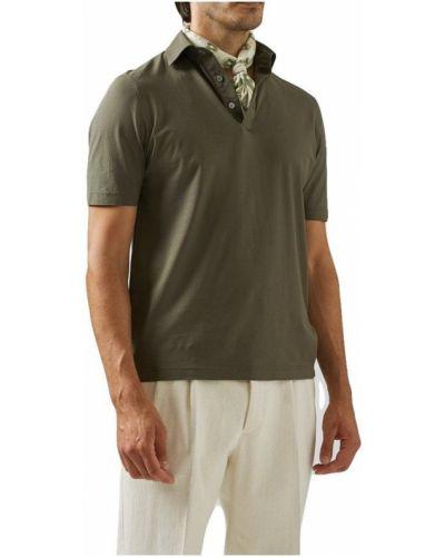 Zielona koszula Lardini