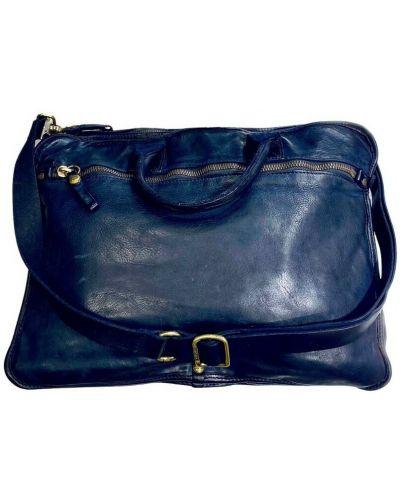 Niebieska torebka Campomaggi