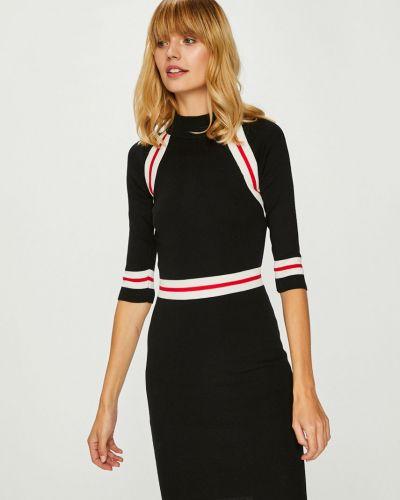 Платье мини облегающее с воротником гольф Answear