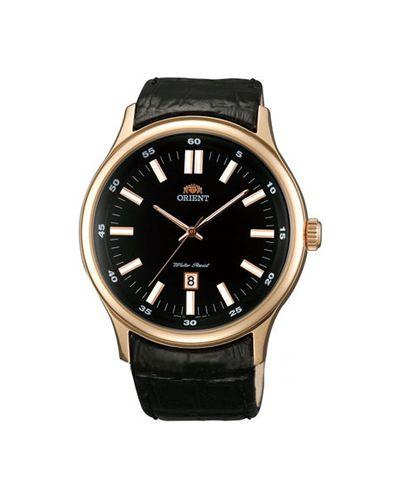 Кварцевые часы с подсветкой Orient