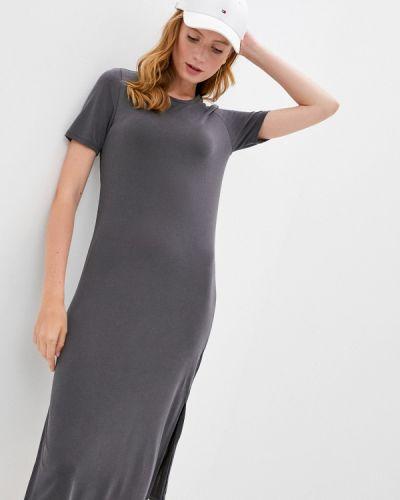 Серое платье Sela