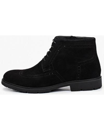 Черные ботинки Rossini Roberto