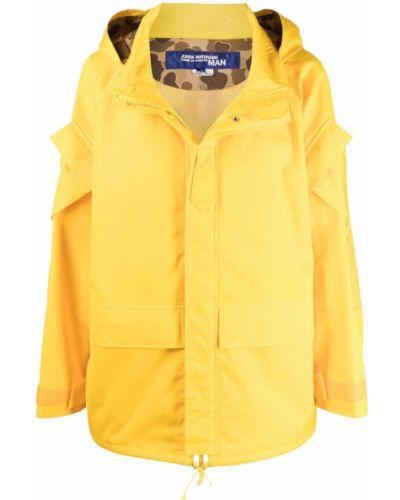 Płaszcz przeciwdeszczowy - żółty Junya Watanabe