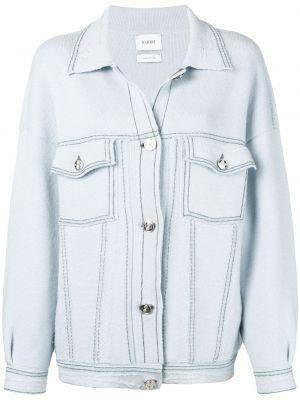Классическая синяя куртка с манжетами с воротником Barrie