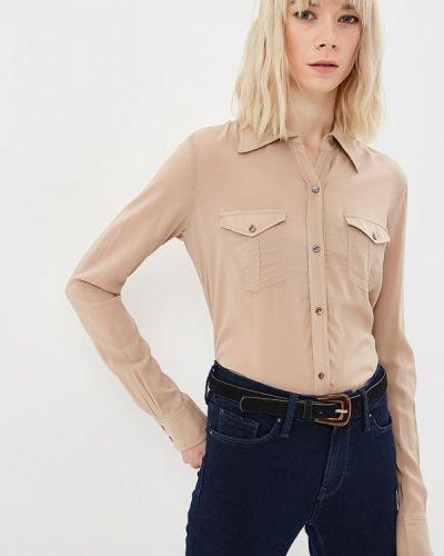 Рубашка с длинным рукавом бежевый Sack's