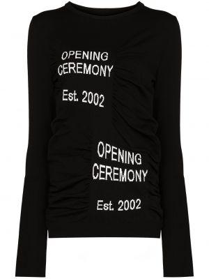 Джемпер с длинными рукавами - черный Opening Ceremony