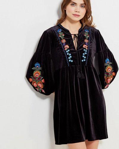 Черное платье весеннее Tantra