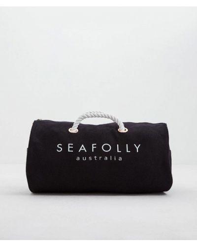 Спортивная сумка черная Seafolly Australia