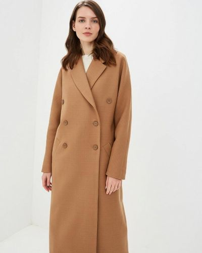 Пальто бежевое пальто Pepen