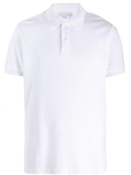 Koszula krótkie z krótkim rękawem prosto z kołnierzem Orlebar Brown