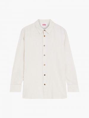 Льняная рубашка - бежевая Solid & Striped