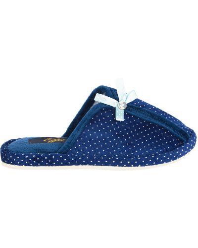 Тапочки синий Effa